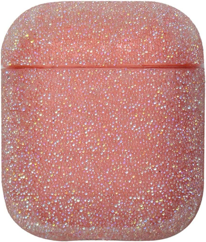Glitter Sparkle Rhinestones Airpods 1 2 Pro Case Protective Cover Shockproof Silicone Diamonds Charging Case Cover for Apple Airpods 1//2//3