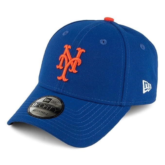 Gorra de béisbol 9FORTY League New York Mets de New Era - Azul - Ajustable: Amazon.es: Ropa y accesorios