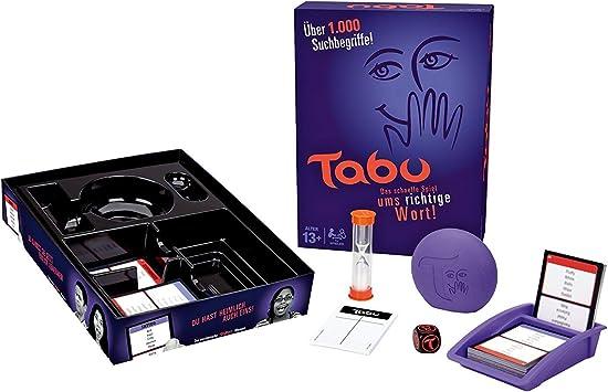 Hasbro Gaming - Tabú, Juego de Dados (versión en alemán): Amazon.es: Juguetes y juegos