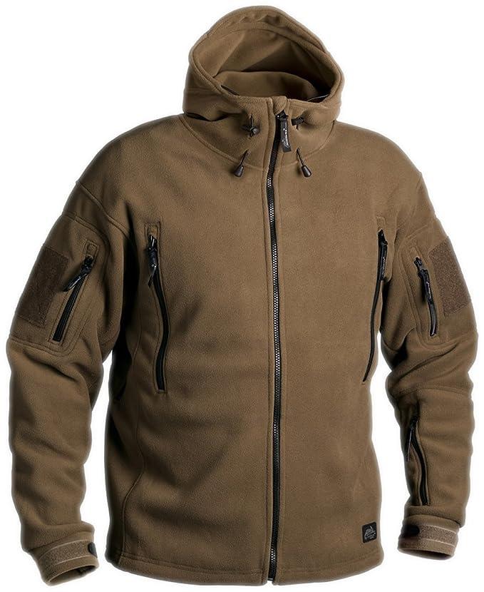 Helikon Patriot Tactical Softshell Jacket - Military Style with Dual  Fleece: Amazon.co.uk: Clothing