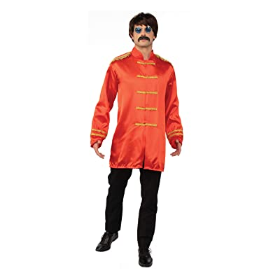 Bristol Novelty AC413A SGT Pepper Budget Jacket, Red, 42-44-Inch: Toys & Games