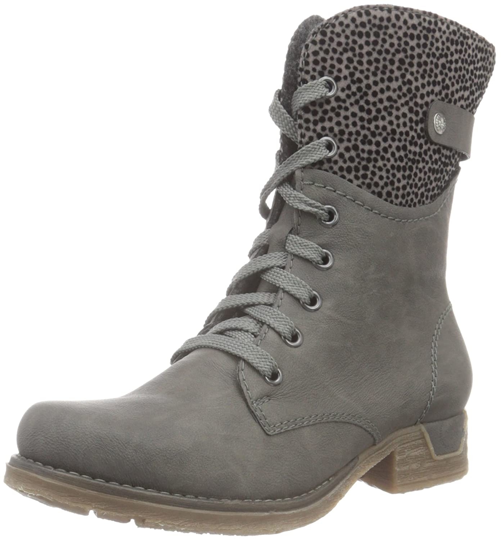 Rieker femme 79604-36, Gris Boots (Fumo/Grau/45) femme Gris (Fumo/Grau/45) 698440b - digitalweb.space