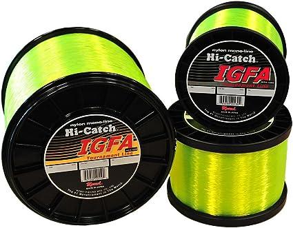 Brand New Black Magic 1000m IGFA Hi Viz Yellow Monofilament Line Choose Kg T