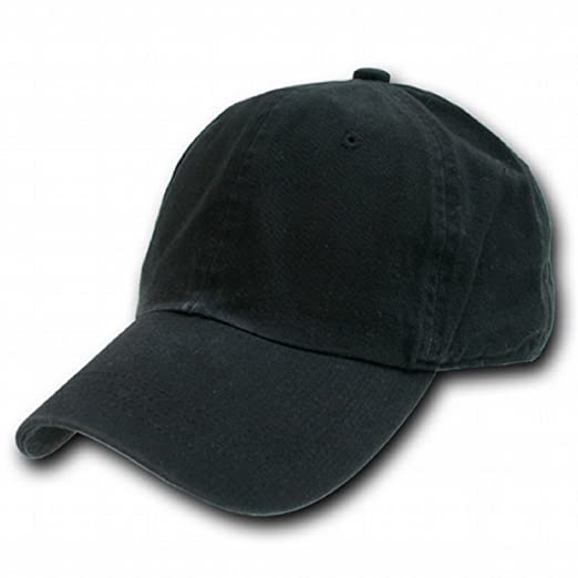 Washed Polo Caps- Black at Amazon Men s Clothing store  Baseball Caps c8815d09f7d