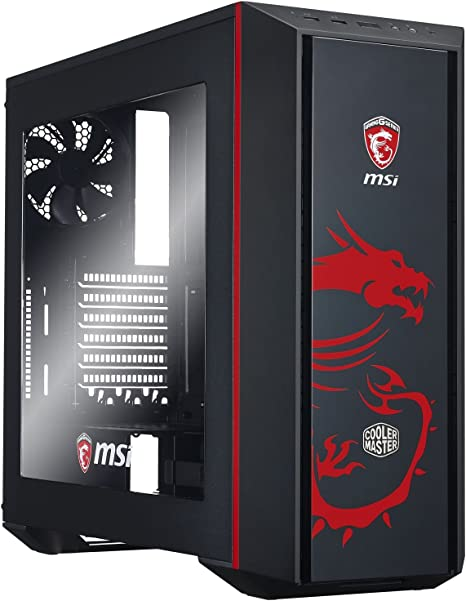 Cooler Master MasterBox 5 MSI Gaming Edition Midi-Tower Negro ...
