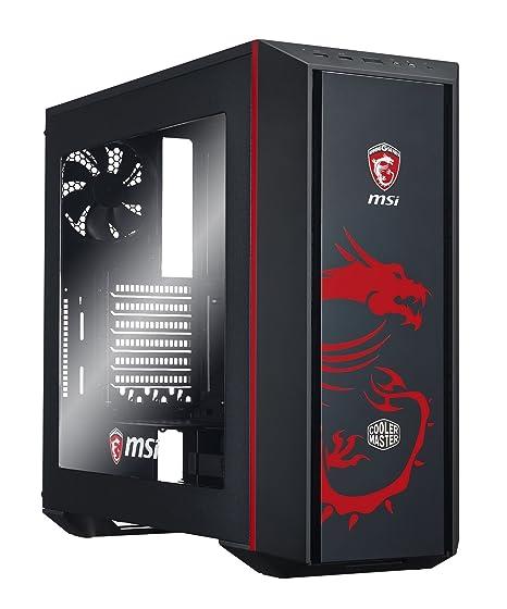 Cooler Master MasterBox 5 MSI Gaming Edition Midi-Tower Negro ...