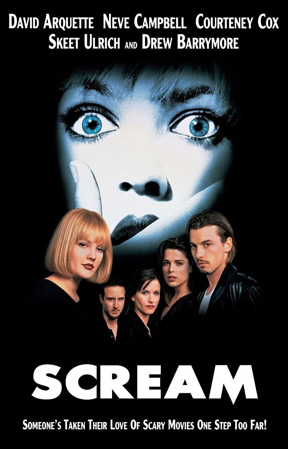 Image result for scream movie poster