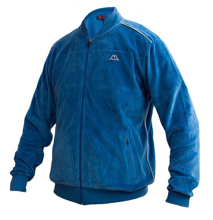 Kappa - Chaqueta deportiva - para hombre azul azul real Large: Amazon.es: Ropa y accesorios