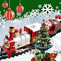 Lukame Tren de Navidad Tren de juguete Juego