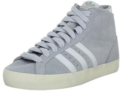 adidas Originals Basket Profi g63949Homme Sportive Sneakers - Gris - Grau (CLEAR GREY S12/WHITE/ECRU), 44