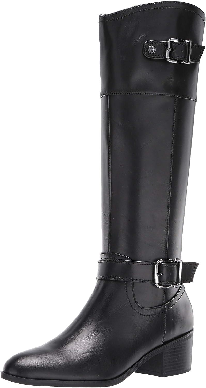 Pries Wide Calf Knee High Boot