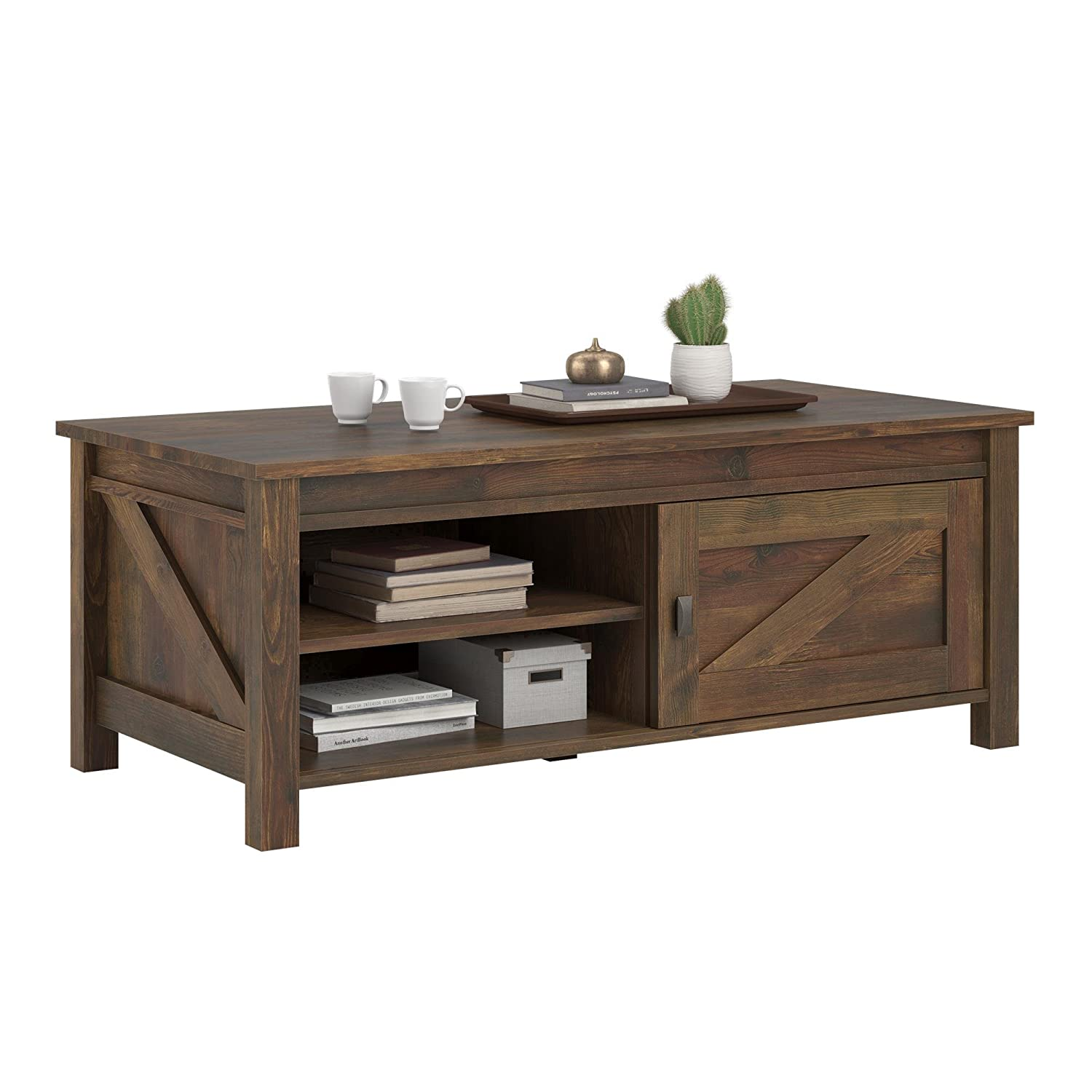 Amazon ameriwood home farmington coffee table rustic amazon ameriwood home farmington coffee table rustic kitchen dining geotapseo Gallery