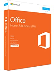 Microsoft Office Home and Business 2016 | PC | Box