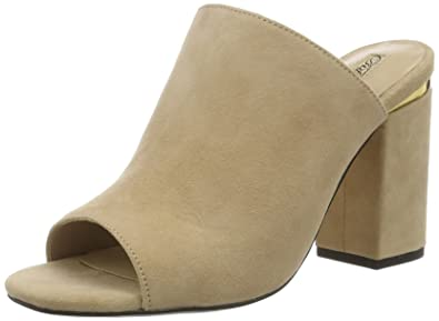 Womens 316-3521 Kid Suede Wedge Heels Sandals Buffalo VOTPpb9