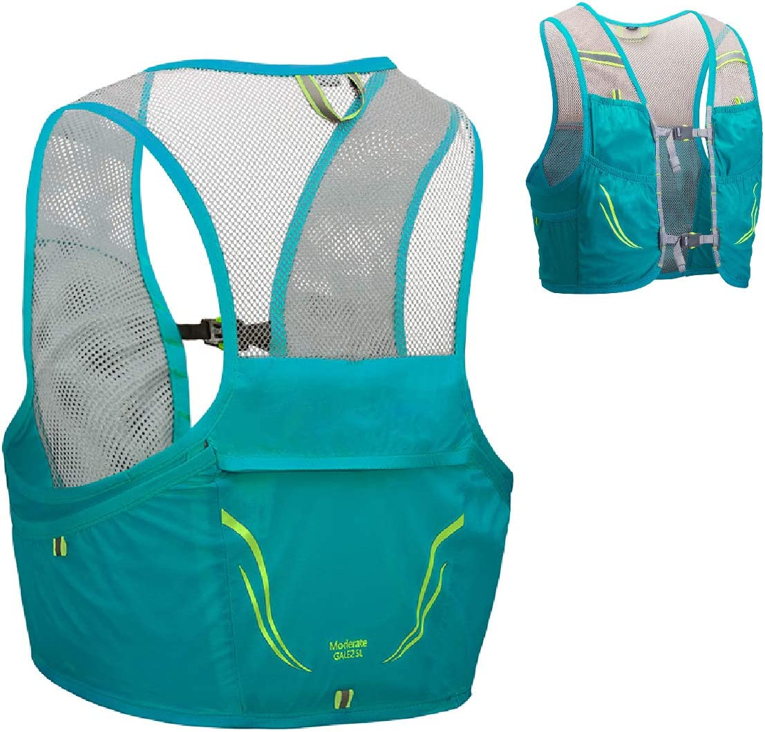 Azarxis 2.5L Hydration Race Vest Pack Lightweight Trail Running Backpack fits for Women & Men for Marathon Jogging Hiking Climbing Outdoor Sports