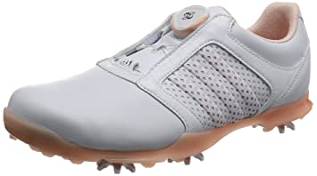 best loved 61b04 a70a3 adidas W Adipure Boa Chaussures de Golf pour Femme, W Adipure Boa, Blanc