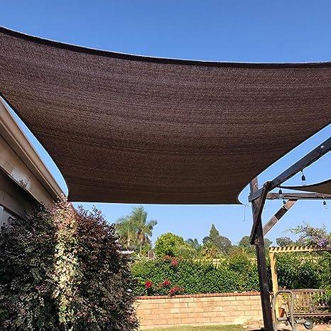 CBPE Lonas Sombra Exterior Toldo Vela, 95% Tela De Sombreado, Engrosamiento De Cifrado Negro for Terrazas Exteriores Cochera, Plantas, Invernaderos, 6-Pin: Amazon.es: Deportes y aire libre