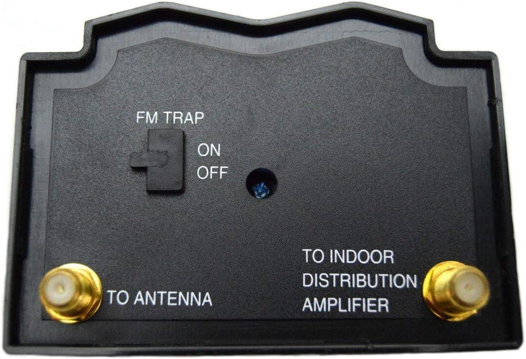 Indoor Outdoor High Gain Signal Amplifier TV Antenna Amplifier Signal Booster HD Digital VHF UHF