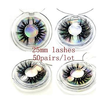 Wholesale 50 Pairs Eyelashes 3D Mink Lashes     - Amazon com