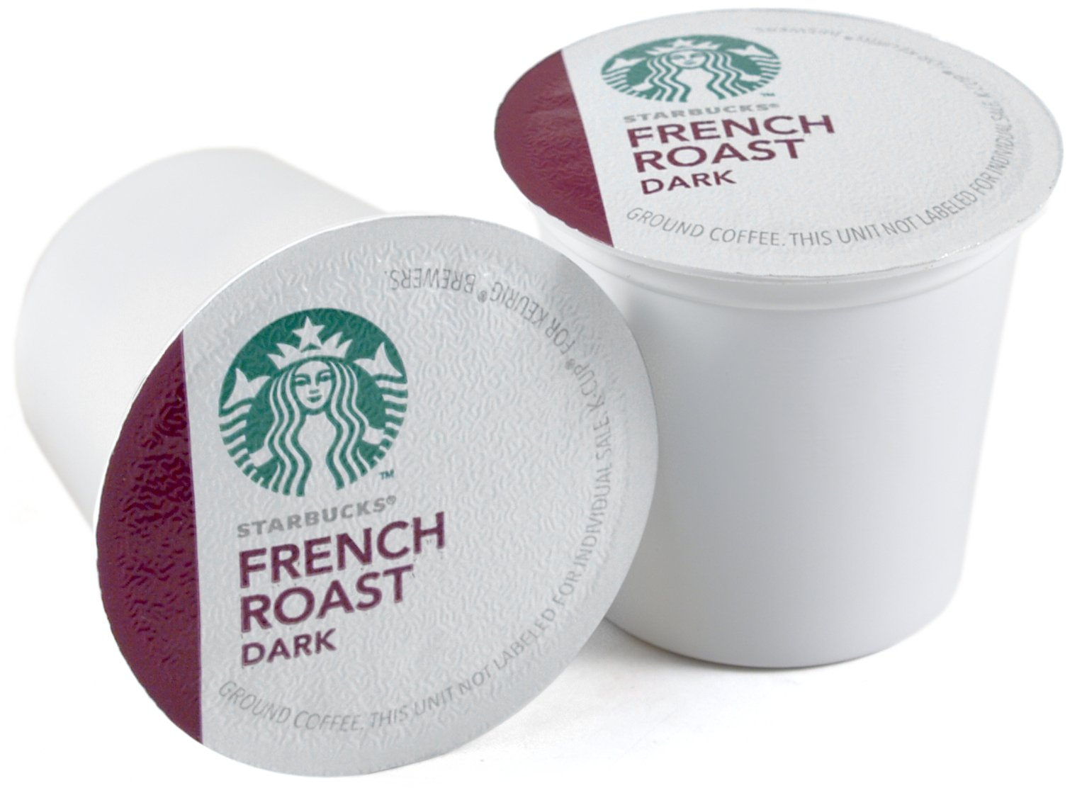 Starbucks French Roast Dark Roast Coffee Keurig K-Cups, 160 Count