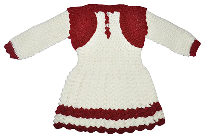 6f917ca15206 Apna Showroom Baby Girl s Woollen Handmade Woolen Skirts with Round ...
