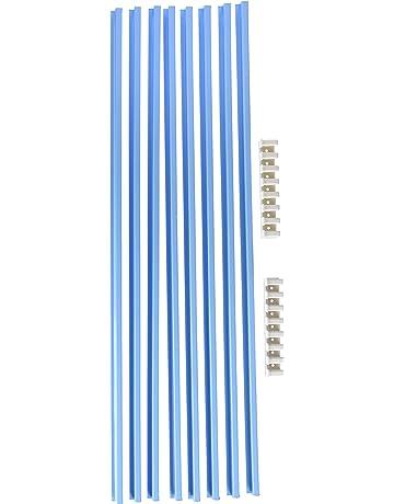 BRIMIC 94511 - Rejilla Frigo-Horno 8 Elementos, blanco