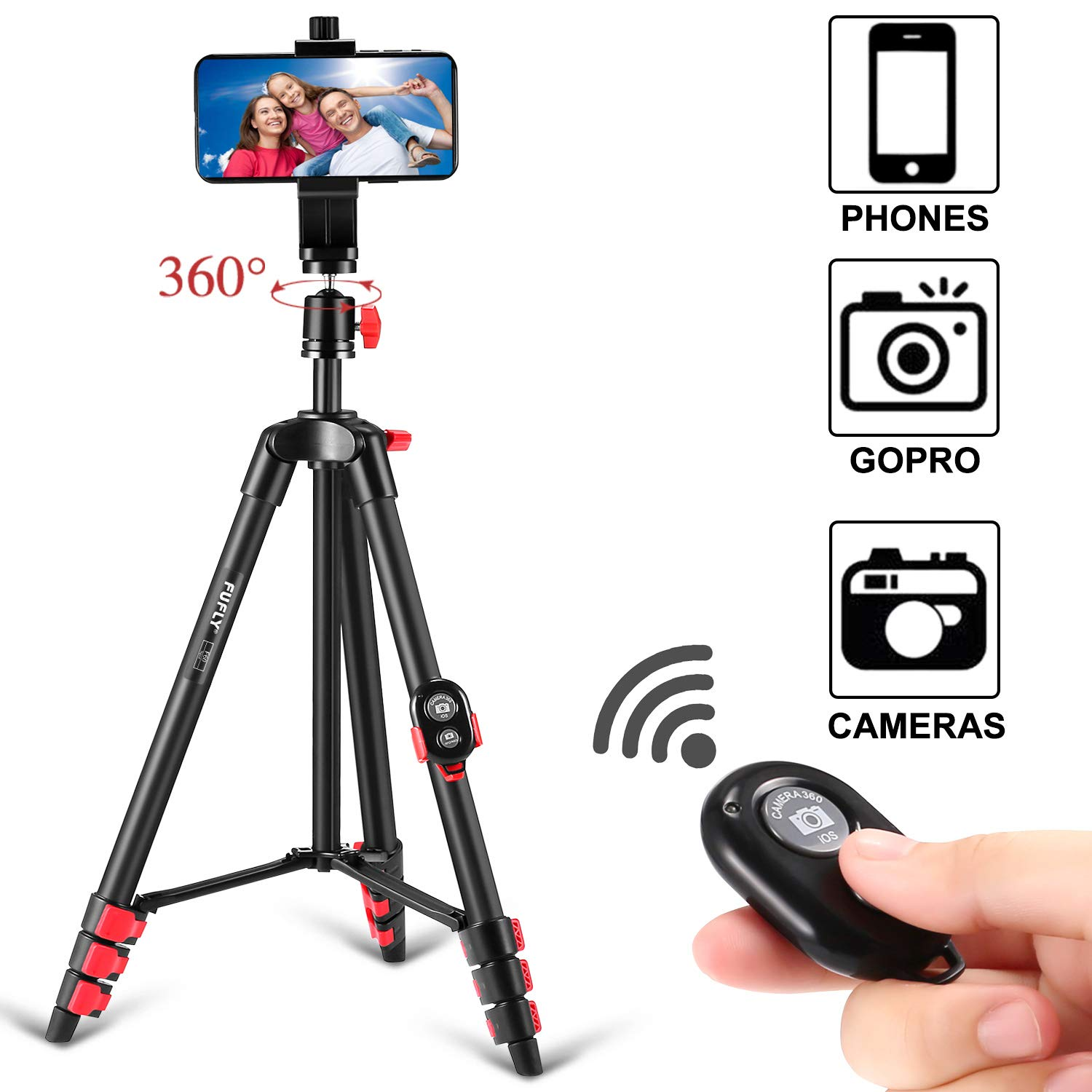 I love this phone tripod!