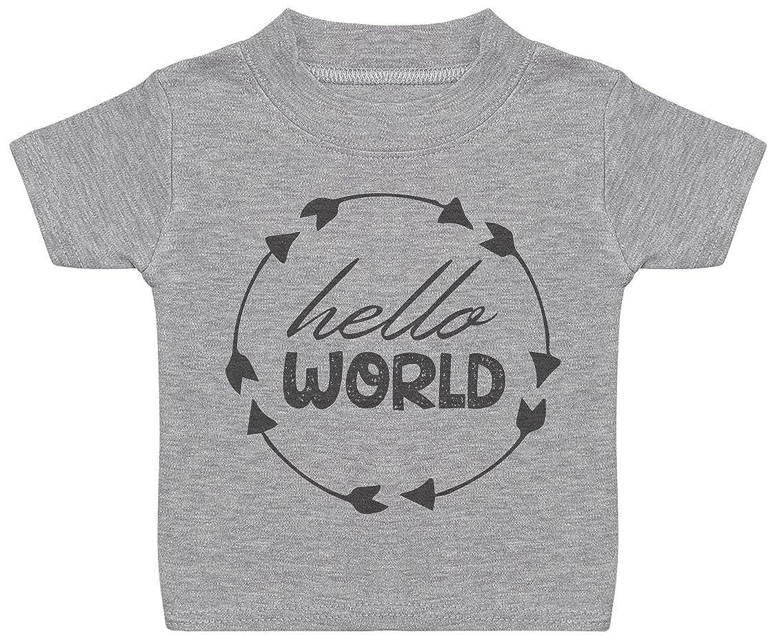 Baby Tee Baby Gift Hello World Baby T-Shirt Baby Tshirt Gift