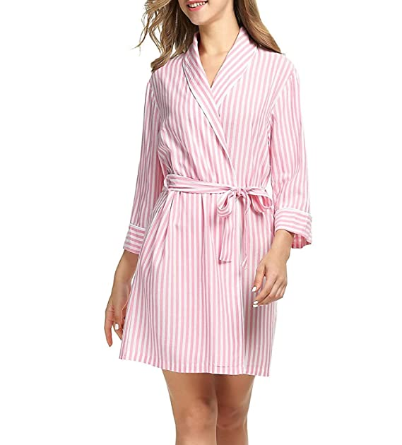 Señoras Vestido De Viscosa Kimono Albornoz Bodywear Especial Estilo ...