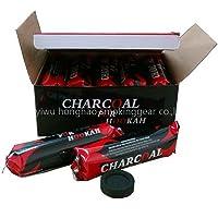 Coal 100 Sheesha HOOKAH Charcoal Discs Coal Shisha 10*10 Hukah Pipe Coal BY GRIDS LONDON