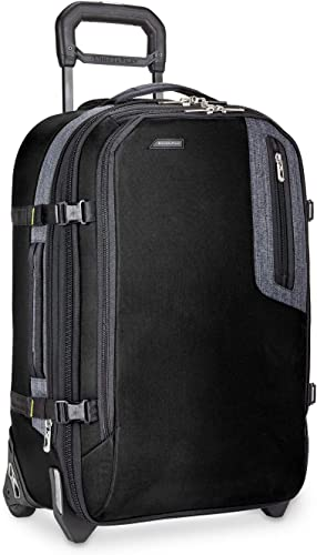 Briggs Riley Explore Domestic Expandable 22 Upright, Black, One Size