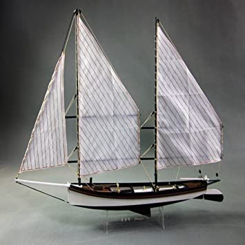 Type E Aissimio Wooden Ship Models DIY Ship Model kit Boat Ships Kits Sail Boat Wooden Model Kit Toy