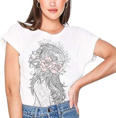 VIENTO Katrina Camiseta para Mujer: Amazon.es: Ropa y accesorios