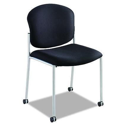 amazon com safco products 4194bl diaz guest chair black kitchen