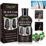 Black Hair Shampoo, Darkening Shampoo, Reverse Grey Hair, Hair Growth Shampoo, Damaged Hair Care, Volumizing…