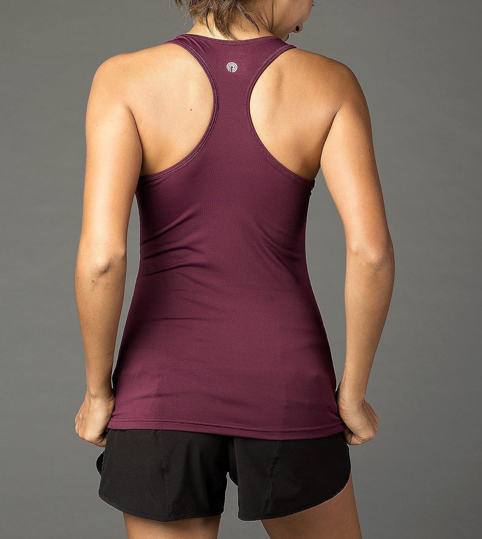 Tank Top, Camiseta de Tirantes LAPASA Camiseta Deportiva para Mujer sin Mangas L06