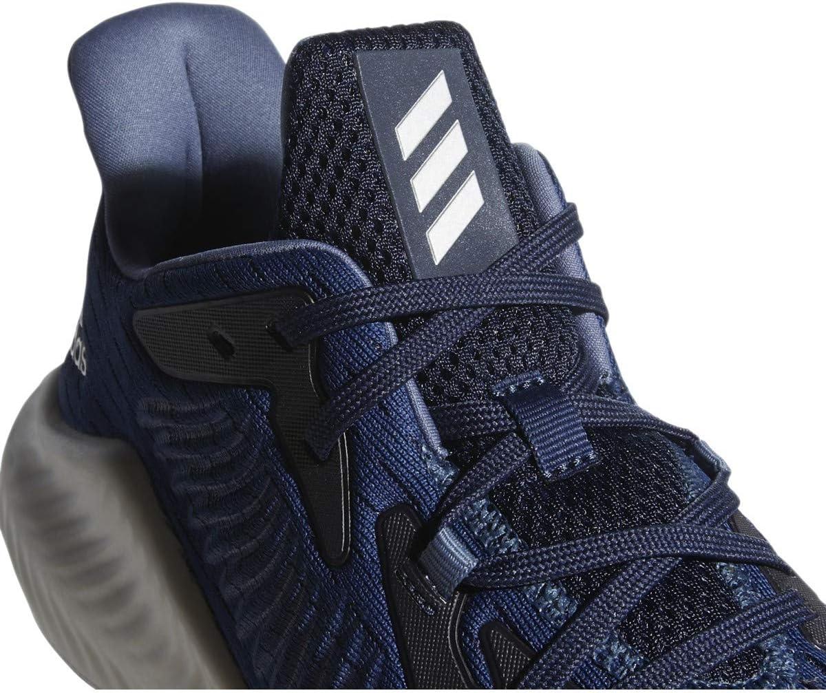 adidas Alphabounce+ Shoes Men's Collegiate Navy/silver Metallic