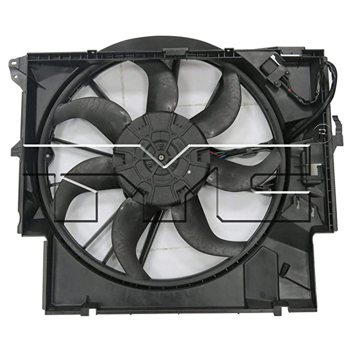 TYC 623430 BMW Replacement Cooling Fan Assembly