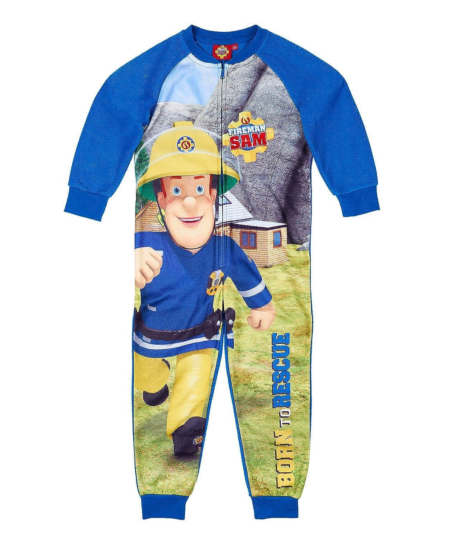 Sam le Pompier Garçon Combinaison - bleu