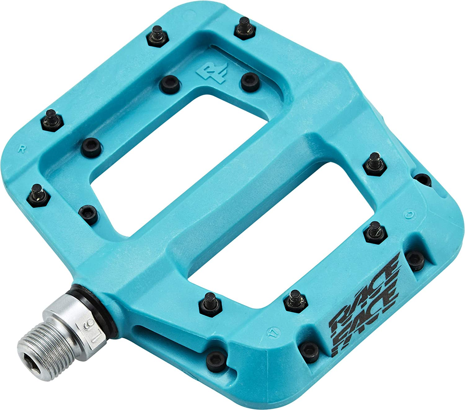 "Race Face Chester flat pedals BLUE 9//16/"" nylon sealed"