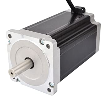 STEPPERONLINE Nema 34 CNC - Motor paso a paso (13 Nm, 5A, 86 x 86 ...