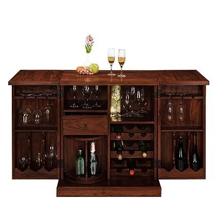Inhouz INHZ0852(M) Bar Cabinet (Brown)