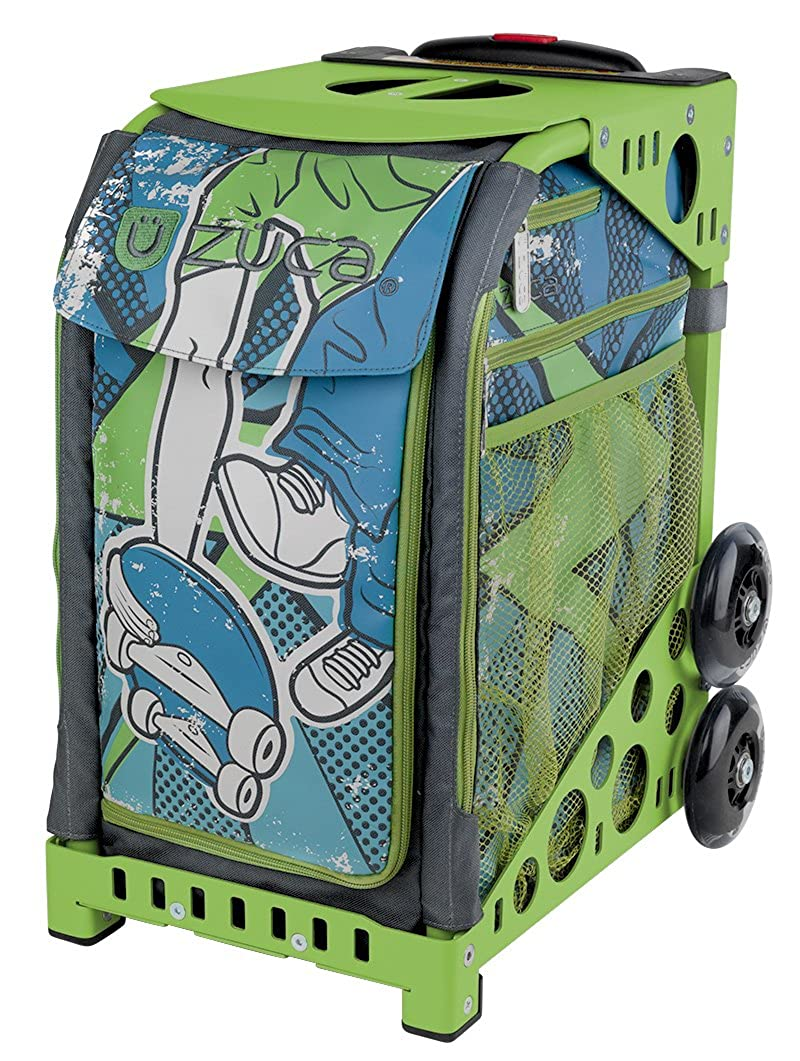 Zuca Sport Insert Bag Ollie with ZUCA Sport Frame Green