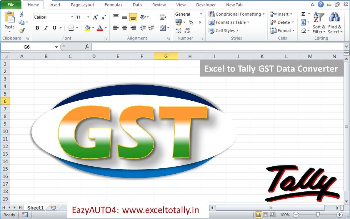 EazyAUTO4 - Excel to Tally