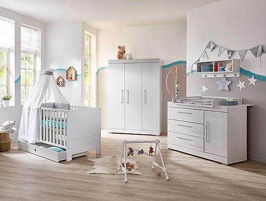 lifestyle4living - Habitación de bebé de 4 Piezas, Juego ...