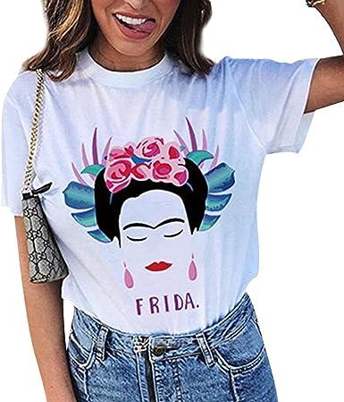 Korisnik Rjecnik Razvoj Camiseta Frida Kahlo Goldstandardsounds Com