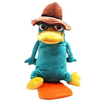 Disney's Phineas and Ferb Agent P. Medium Size Plush Toy (12in): Toys & Games