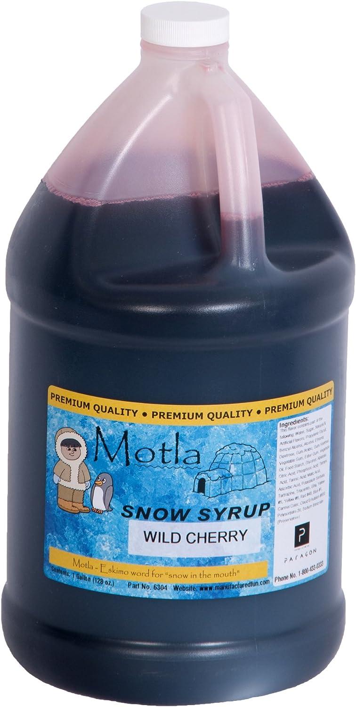 Paragon Motla Premium Sno-Cone and Shaved Ice Syrup