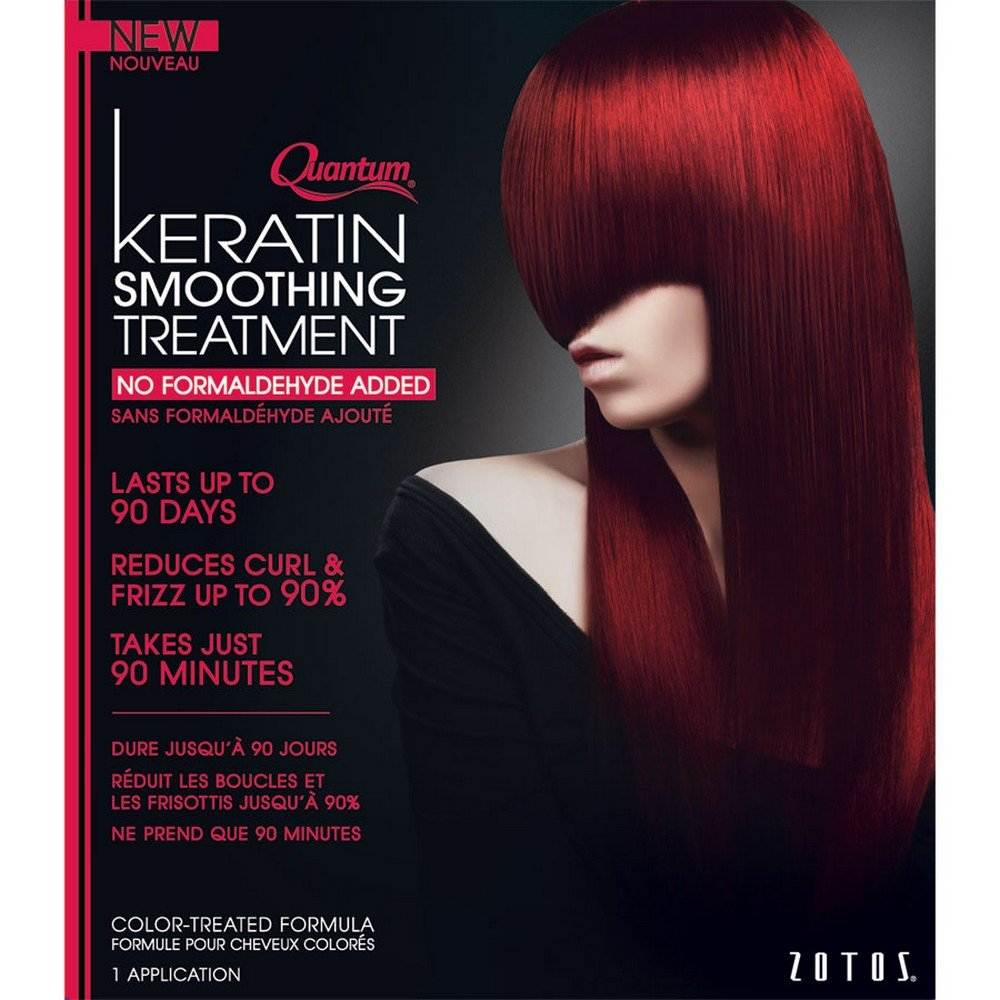 Amazon Quantum Keratin Smoothing Treatment For Color Treated