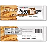 Julian Bakery Paleo Thin Protein Bar | Sunflower Butter | Egg White Protein | 20g Protein | 1 Net Carb | 10 Bars